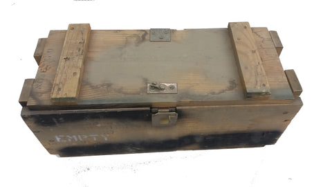 "Wooden Ammo/Storage Boxes 20"" x 8"" x 8"""