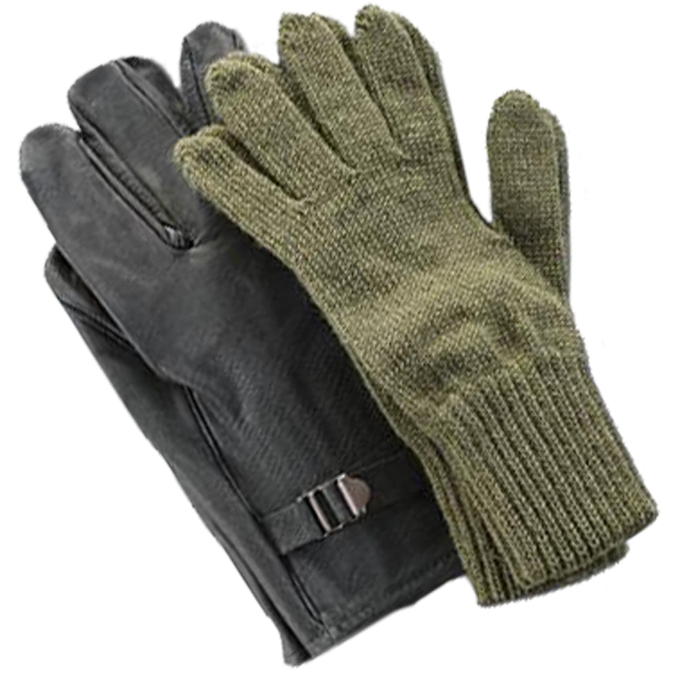 Major Belgian Military Issue Leather Gloves w Wool Liner (MJR-SG-0288) –  Hahn s World of Surplus   Survival 6541836194f