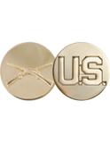 Badge -  U.S. Army Branch of Service & US Enlisted - Dress