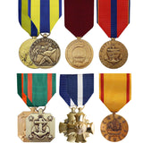 Medal - Full Size - Navy