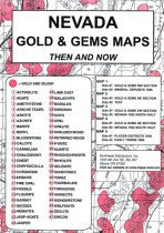 Gold & Gems Maps Then & Now (ND-GGMTN) - Hahn's World of Surplus & Survival - 1