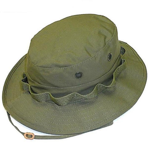 R&B Distributing Co. Government Jungle Hat - OD (R&B-303) - Hahn's World of Surplus & Survival