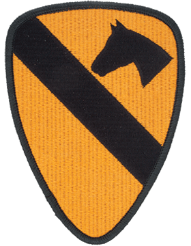 Patch - 1st Cavalry - Full Color (TSR-P-0001C-F)