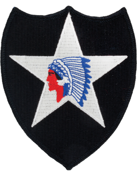 Patch - 2nd Infantry Division - Full Color (TSR-P-0002A-F-A-1-77)