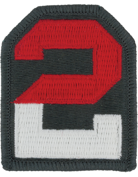 Patch - 2nd Army - Full Color (TSR-0002D-F)