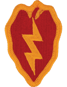Patch - 25th Infantry Div. - Full Color (TSR-0025A-F)
