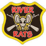 Eagle Emblems Inc. Vietnam River Rat Collectors Patch (EM-PM0016) - Hahn's World of Surplus & Survival