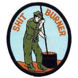 Eagle Emblems Inc.Vietnam Shit Burner Collectors Patch (EM-PM0269) - Hahn's World of Surplus & Survival