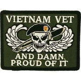 Eagle Emblems Inc.Vietnam Damn Proud Collectors Patch (EM-PM0806) - Hahn's World of Surplus & Survival