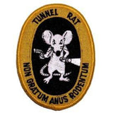 Eagle Emblems Inc. Vietnam Tunnel Rat Collectors Patch (EM-PM0861) - Hahn's World of Surplus & Survival