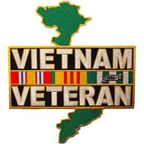"Eagle Emblems  PATCH-VIETNAM,VETERAN,SVC RIBBONS (12"") (PM9093) - Hahn's World of Surplus & Survival"