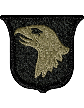Patch - Airborne Division Scorpion Patch with Fastener (TSR-PMV-0101A)