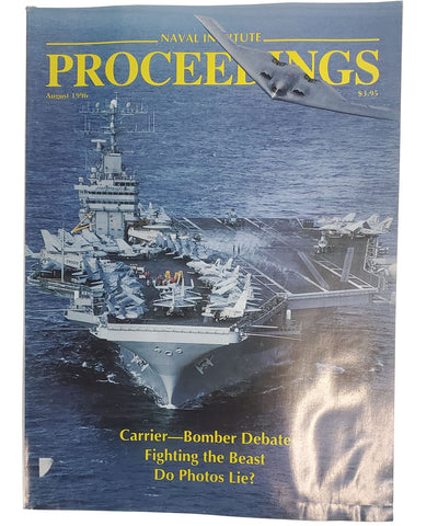 U.S. Naval Institute PROCEEDINGS Magazine - Aug. 1996