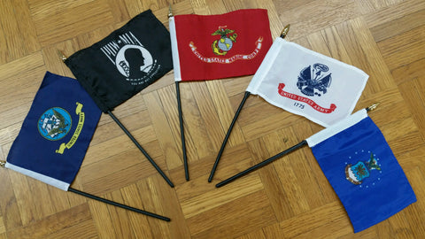 Ruffin Flag 4x6 Flag/Stick (RF-888821) - Hahn's World of Surplus & Survival - 2