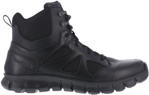 Reebok Boot - Sublite Cushion Tactical - Black  (RB8605) - Soft Toe