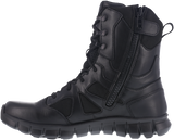 "Reebok  Boot - Sublite 8 "" Cushion Tactical Side Zip Boot - Black"