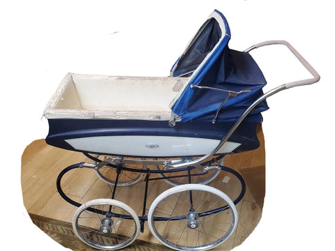 Vintage 1940's Pedigree Baby Buggy Carriage Stroller