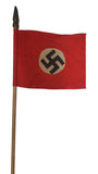 Vintage WWII Nazi Stick Flag (1043MOM-C)