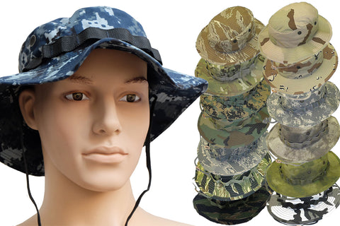 Jungle Hat  - Government - Camo