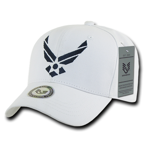 Ballcap - United States Air Force - White