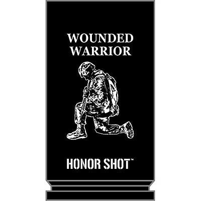 Eagle Emblems 30MM Shot Glass Wounded Warrior - Hahn's World of Surplus & Survival