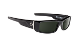 SPY Optic Sunglasses -  Hielo Black  - H-Gray Green Lens