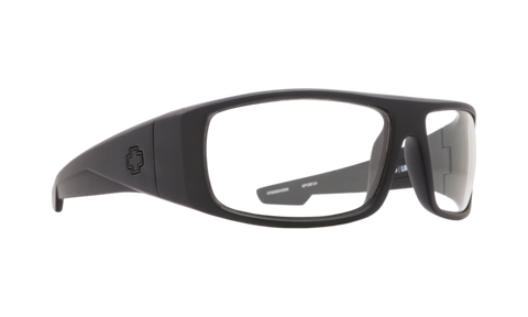 SPY Optic Sunglasses -  Logan Matte Black ANSI RX  - H-Clear Lens