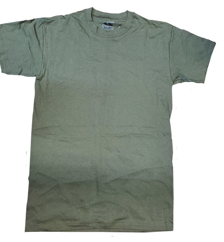 Duke Athletic T-Shirt - 100% Cotton Military - OD