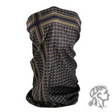 Zan Headgear Motley Tube® Polyester Houndstooth Coyote Tan (ZH-T235T) - Hahn's World of Surplus & Survival