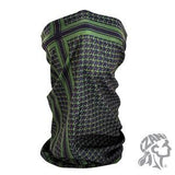 Zan Headgear Motley Tube® Polyester Houndstooth Olive (ZH-T235) - Hahn's World of Surplus & Survival