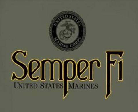 Joe Blow Tees Semper Fi T-Shirt (JBT-TASPF) - Hahn's World of Surplus & Survival