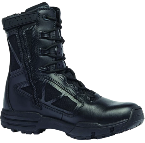 "Belleville TR Chrome 8"" Hot Weather Side Zip Boot (BV-TR918Z) - Hahn's World of Surplus & Survival"