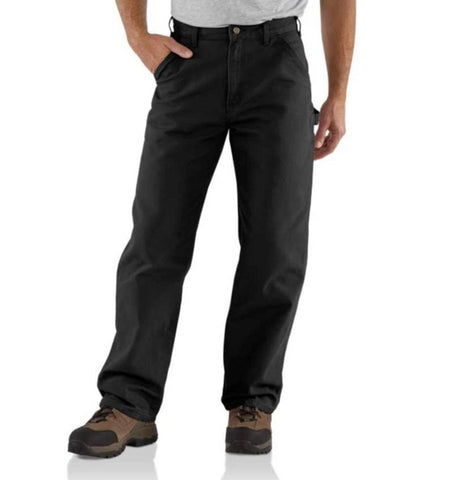 Carhartt Pants - Loose/Original -Fit Washed Duck Work Dungaree - Black