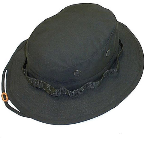 R&B Distributing Co. Government Jungle Hat - Black (R&B-305) - Hahn's World of Surplus & Survival