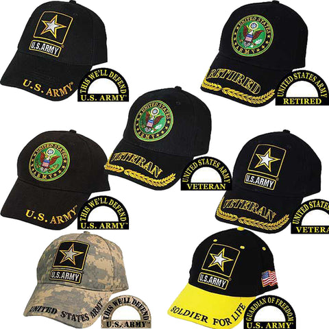 Ballcap - U.S. Army Branch of Service