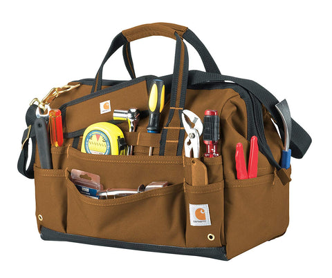 "16"" Legacy Tool Bag w/ Molded Base - CH Brown (CH-26140702)"