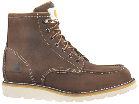 Carhartt 6-Inch Brown Wedge Boot (CMW6095)