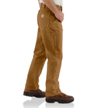 Carhartt Firm Duck Double-Front Work Dungaree (CH-B01) - Hahn's World of Surplus & Survival - 3