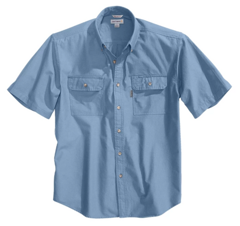 Carhartt Short-Sleeve Chambray Shirt (CH-S200) - Hahn's World of Surplus & Survival