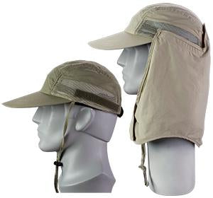 Broner Supplex Hat Detatchable Neck Flap (BR-79-116)