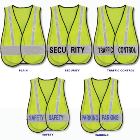 1st Class Uniforms Reflective Safety Vest - Security ID (FCSV19)