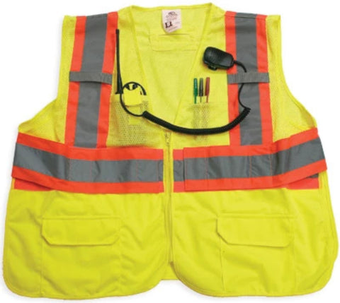 1st Class Uniforms Reflective Safety Vest (FCSV31)