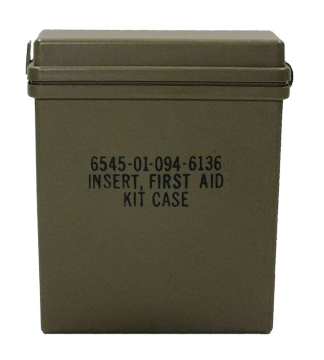 Military First Aid Kit Case (6545-01-094-6136)