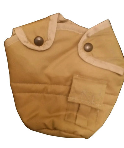 Powell Fleece Lined 1qt Canteen  Cover Coyote Tan/OD (P-CFL-COVER) - Hahn's World of Surplus & Survival - 1