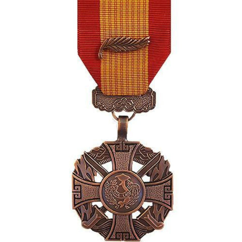Medal - Full Size - Gallantry Cross Armed Forces Palm Attachment (VG-6601400)