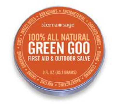 SierraSage Green Goo First Aid Salve (SS-2609) - Hahn's World of Surplus & Survival