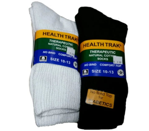 Railroad Socks - Health Trak Therapeutic Socks - Diabetic (RS-991)
