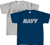T-Shirt - Navy - Reflective Ink