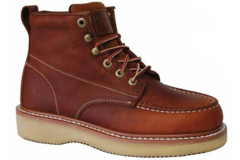 Work Zone Boot - Leather Work - Dark Brown (N634)