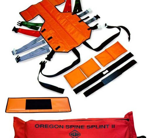 LIMITED Oregon Spine Splint 2 International Orange (SK-302A)